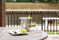 Riverside House, York Patio Dining 2