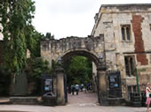 Entrance to York Museum Gardens, York City